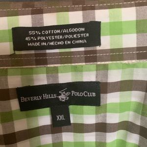 Beverly Hills Polo Club Shirts - 2 for $10 Men's Short Sleeve Button Down